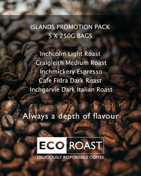 5 x 250g ISLANDS PROMOTION PACK